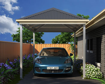 Carports Carport Kits Designs 1300 445 889 True Blue Sheds
